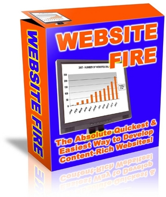 Pay for  *NEW!* Website Fire - The Absolute Quickest & Easiest Way to Develop Content Rich Websites! - Private Label Rights