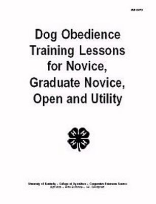 Dog Obedience Training Lessons for Novice, Graduate Novice, Open and Utility 6435543_dogavax