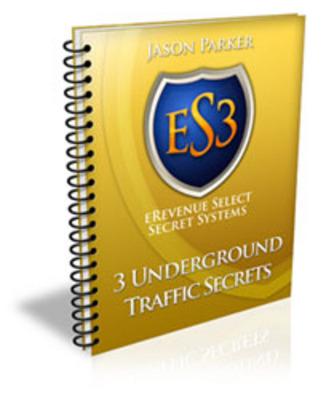 *NEW!* 3 Underground Traffic Secrets - Resale Rights
