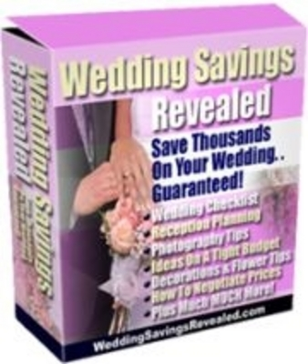 Pay for  *NEW!* Wedding Savings Revealed! - Private Label Rights