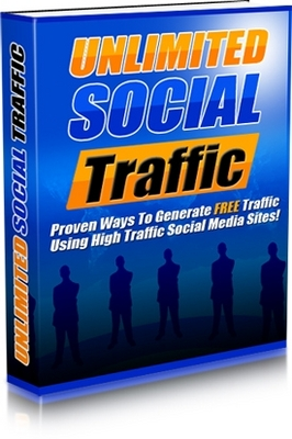 Pay for  *NEW!*  Unlimited Social Traffic -Master Resale Rights