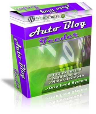*NEW!*  Auto Blog Feeder -Master Resale Rights
