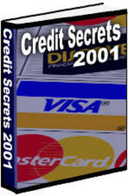 Pay for *NEW!* Credit Secrets 2001 ebook