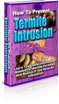 *NEW!* How To Prevent Termite Intrusion - PLR