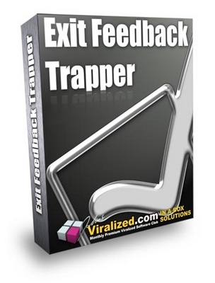 Pay for  *NEW!*  Exit Feedback Trapper Software-Master Resale Rights