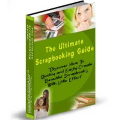 Pay for  *NEW!* The Ultimate Scrapbooking Guide - PLR