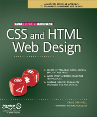 Pay for  *NEW!* The Essential Guide to CSS and HTML Web Design eBook