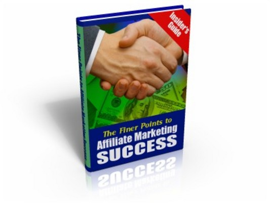 *NEW!* The Finer Points To Affiliate Marketing Success - MRR