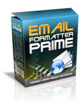 Pay for  *NEW!* Email Formatter Prime -Master Resale Rights