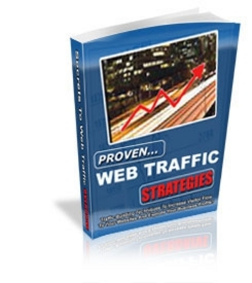 Pay for  *NEW!* Proven Web Traffic Strategies -Master Resale Rights