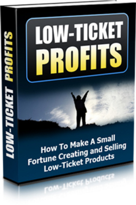 *NEW!* Low Ticket Profits - Master Resale Rights