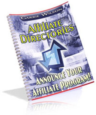Pay for *NEW!* Affiliate Directories:Announce Your Affiliate Program