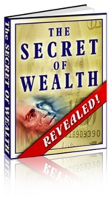 Pay for  *NEW!* The Secret Of Wealth Revealed!- Private Label Rights