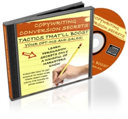 *NEW!* Copywriting Conversion Secrets With Resale Rights