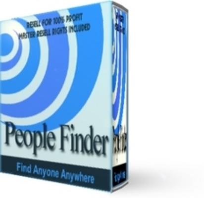 Pay for  *NEW!* People Finder - Master Resell Rights