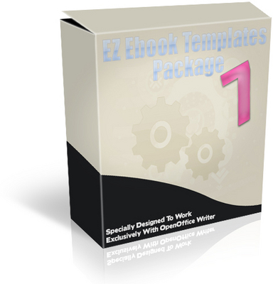 *NEW!* EZ Ebook Template Package 7- Master Resale Rights PDF Ebook Creation Fast and Easy!