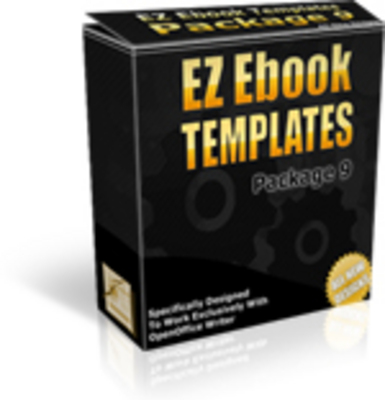 Pay for *NEW!* EZ Ebook Template Package 9 - Master Resale Rights