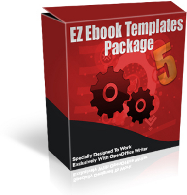 *NEW!* EZ Ebook Template Package 5 - Master Resale Rights