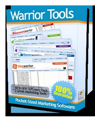 Pay for  *NEW!* Warrior Tools - 5 Effective Marketing Software Tools