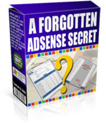 Pay for *NEW!* A Forgotten Adsense Secret - Resale Rights Included