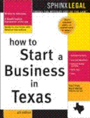 *NEW!*  How To Start a Business in Texas 4e eBook