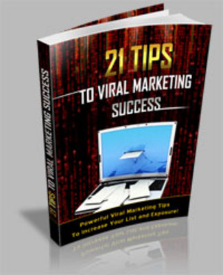 Pay for *NEW!* 21 Tips To Viral Marketing Success Secrets - MRR