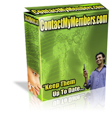 Pay for *NEW!* Contact My Members Script With Master Resale Rights