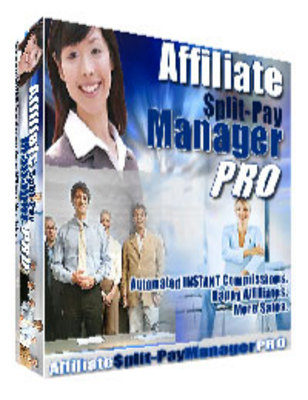 Pay for *NEW!* Affiliate Split Pay Manager Pro with Resale Rights
