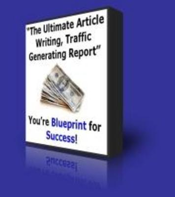 *NEW!* The Ultimate Article Writing,Traffic Generating