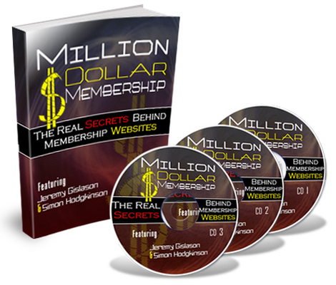Pay for *NEW!* Million Dollar Membership Audio Course MRR