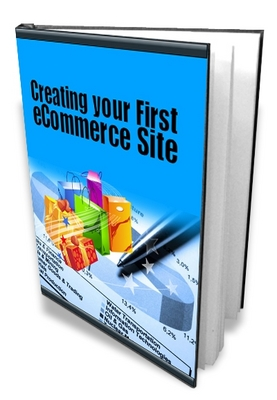 *NEW!*  Creating Your First ecommerce Site ebook Website – MRR