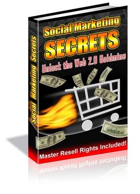 8993269 ECover 2huge *NEW!* Social Marketing Secrets  Master Resale Rights