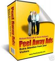 Pay for *NEW!* Page Peel Away Ads -  Resale Rights | Web 2.0 Marketing Technique in Your Hands