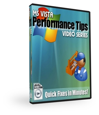 Pay for  *NEW!* MS Vista Performance Tips -With Private Label Rights