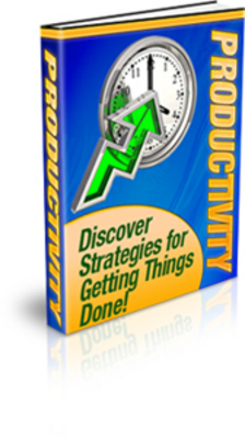 Pay for *NEW!* Productivity - Discover Strategies for Getting Things
