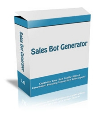 Pay for  *NEW!* Sales Bot Generator  - Master Resale Rights
