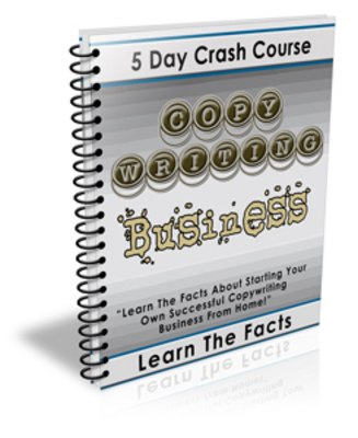 *NEW!* 5 Day Crash Course Copywriting Business with PLR