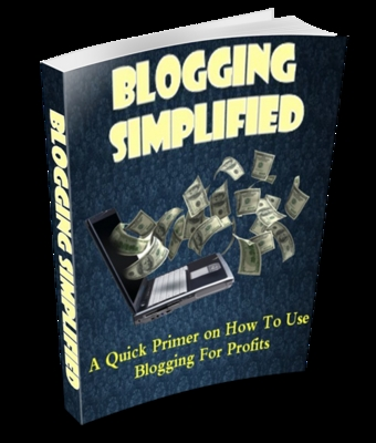 Pay for *NEW!* Blogging Simplified with PLR