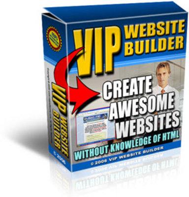*NEW!* Vip Website Builder - Website Creation Made Easy