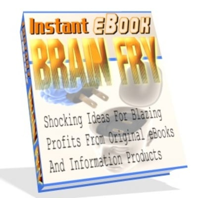 Pay for *NEW!*  Instant Ebook Brain Fry with Master Resell Rights