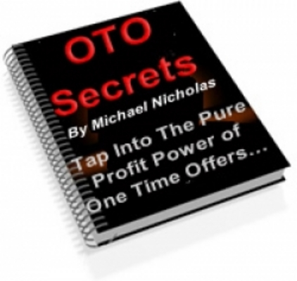 *NEW!* Oto Secrets Ebook - Master Resale Rights One Time Offer Pages