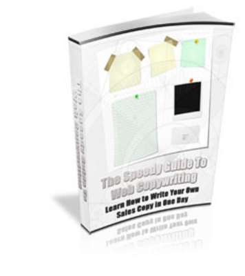 Pay for *NEW!* The Speedy Guide To Web Copywriting