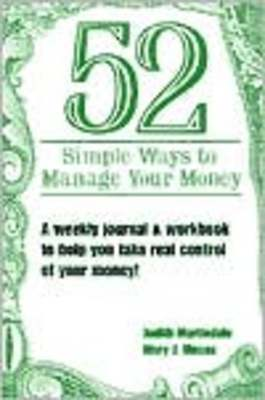 Pay for *NEW!* 52 Simple Ways to Manage Your Money
