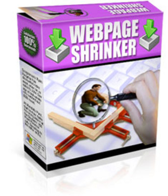 *NEW!* Webpage Shrinker With Resale Rights