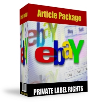 *NEW!* PRIVATE LABEL CONTENT PACK - EBAY BUYING & SELLING