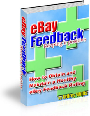 *NEW!* Ebay Feedback Keeping It Positive With Resale Rights