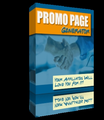 Pay for *NEW!* Promo Page Generator Master Resale Rights