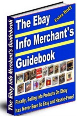 *NEW!* The Ebay Info Merchants Guidebook with MRR