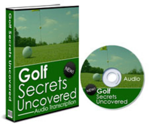 *NEW!* Golf Secrets Uncovered With Resale Rights