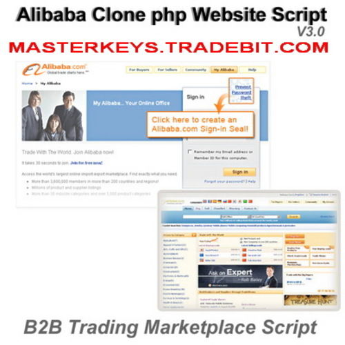 Pay for *NEW!* Alibaba Clone Php B2b Marketplace Website Script